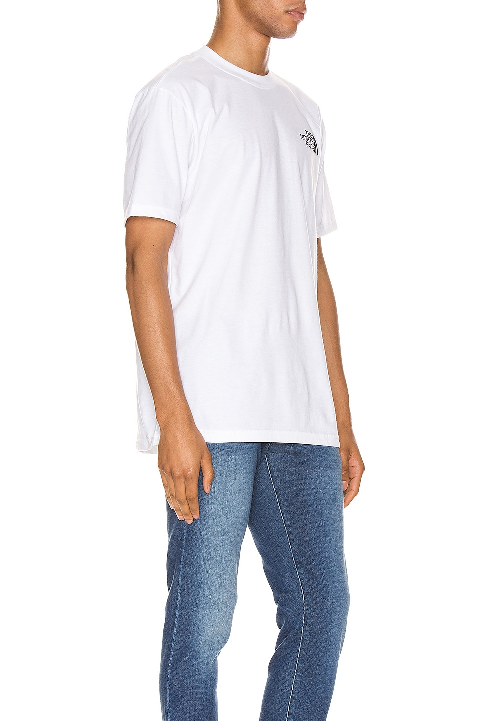 Image 3 of The North Face Red Box Tee in TNF White