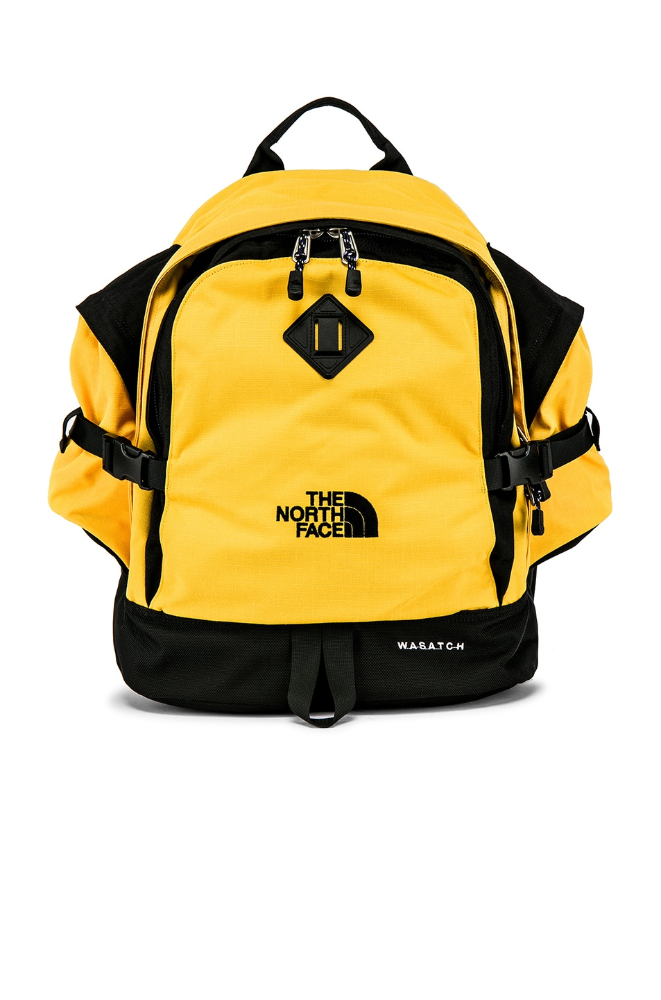 Image 1 of The North Face Wasatch Reissue Bag in TNF Yellow & TNF Black