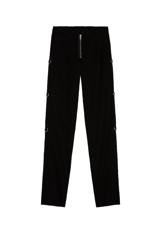 Image 1 of TAKAHIROMIYASHITA The Soloist Patch Pocket Pant in Black