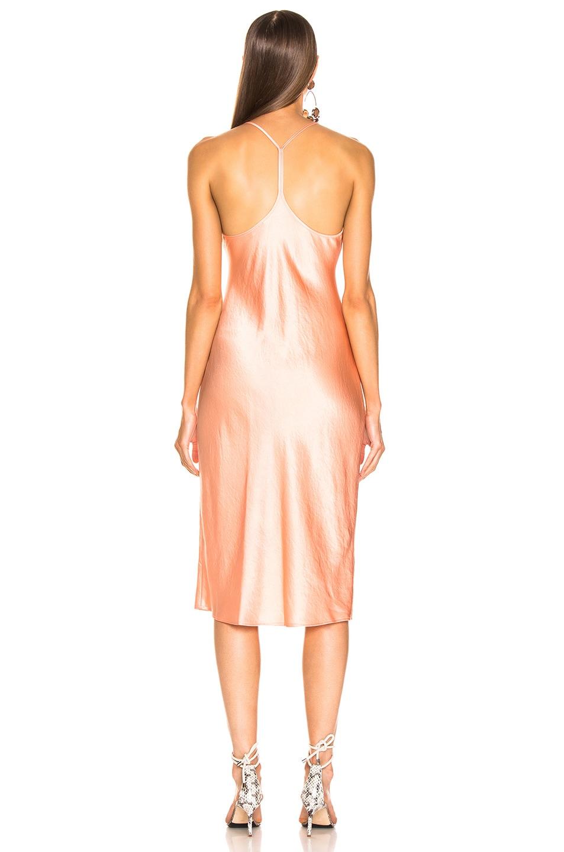 Image 3 of T by Alexander Wang Wash & Go Woven Dress in Papaya
