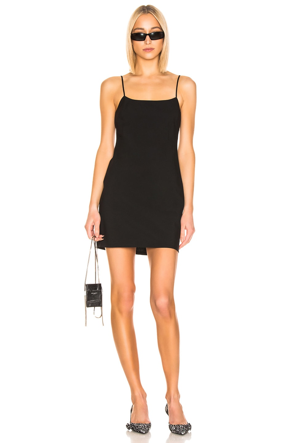 Image 1 of T by Alexander Wang Mini Dress in Black