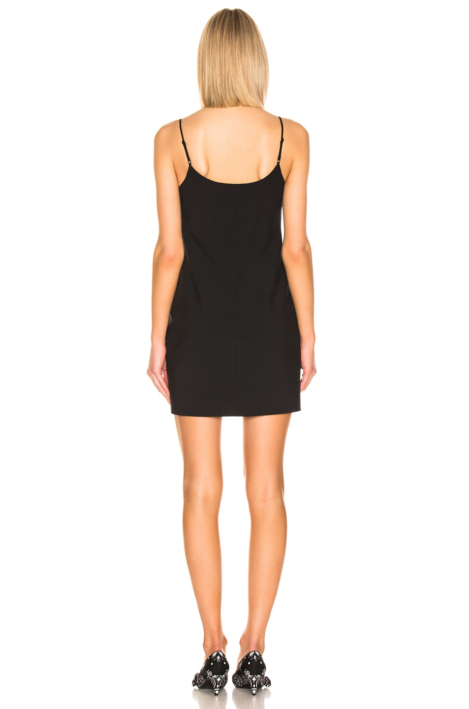 Image 3 of T by Alexander Wang Mini Dress in Black