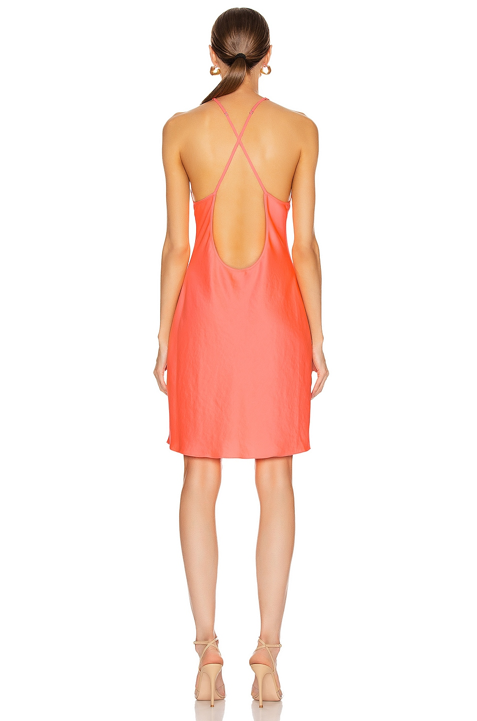 Image 3 of T by Alexander Wang Halter Mini Dress in Pink