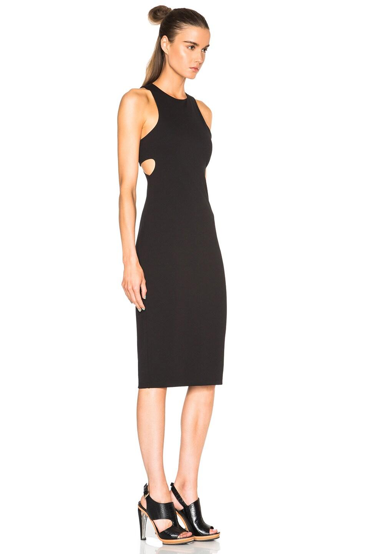 T By Alexander Wang Woman Ponte Mini Dress Black Size 2 Alexander Wang egpXZOp8V