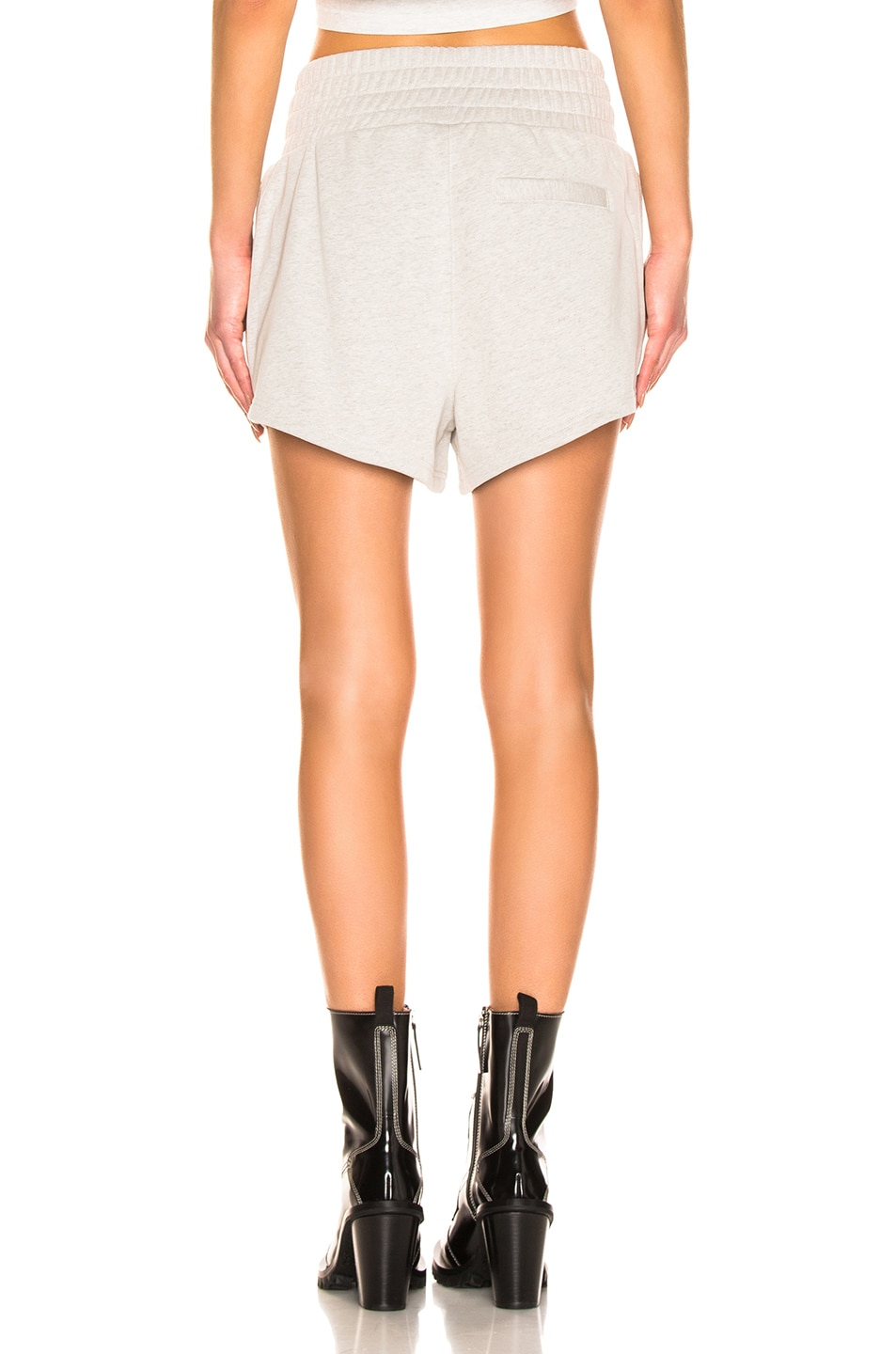 Image 3 of T by Alexander Wang Lightweight Short in Heather Grey