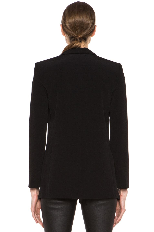 Image 5 of T by Alexander Wang Viscose Crepe Blazer in Black