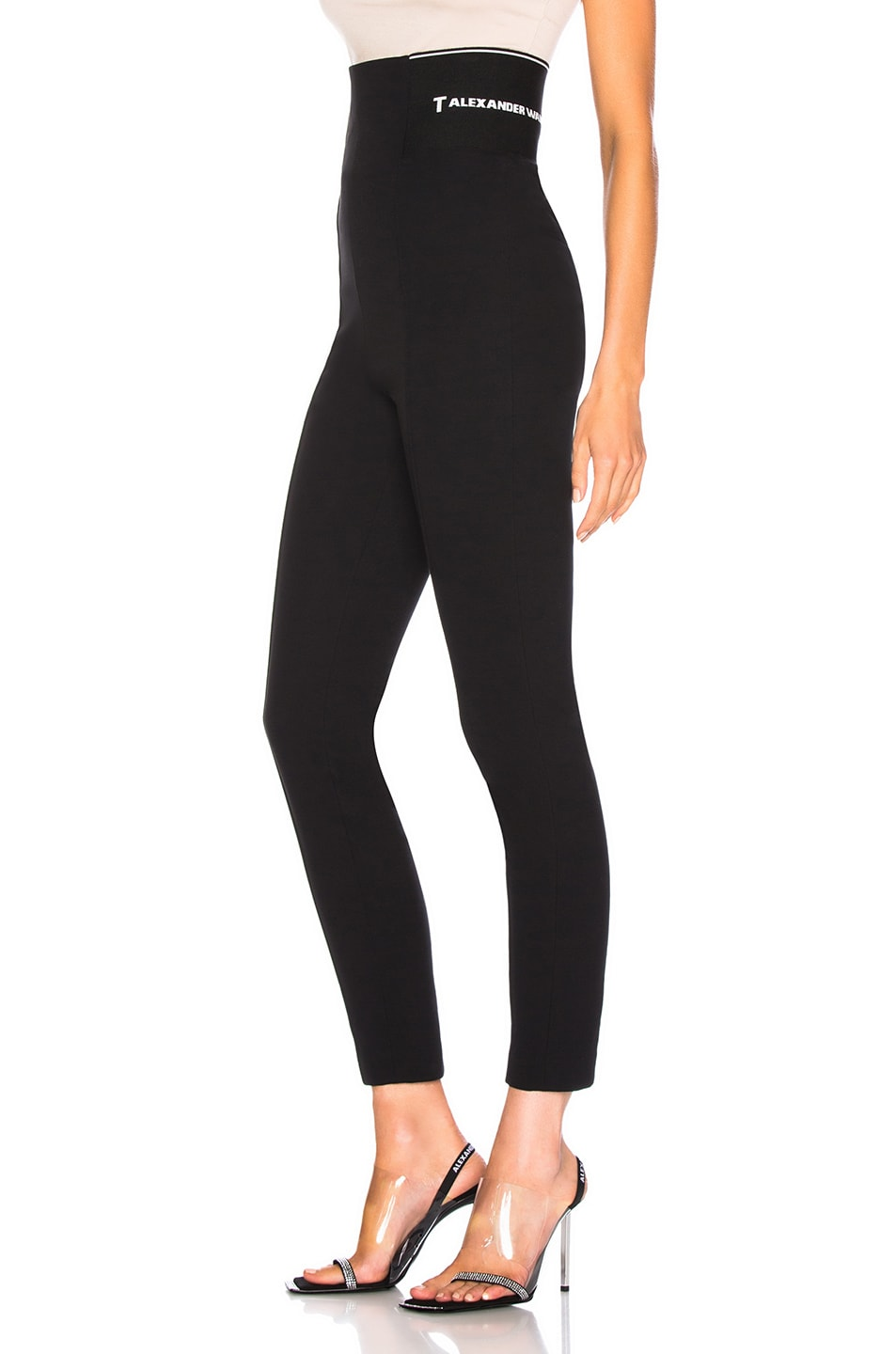 2f1120537121b Image 1 of T by Alexander Wang Suiting Legging in Black