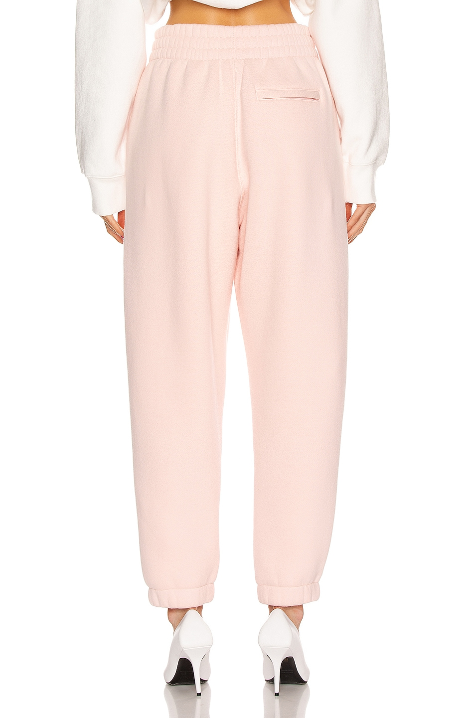 Image 3 of T by Alexander Wang Puff Paint Pant in Light Melon