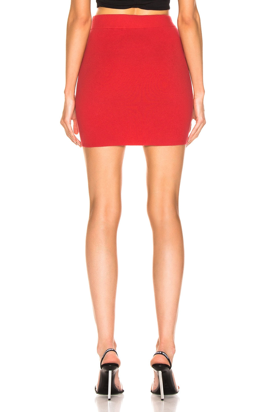 Image 3 of T by Alexander Wang Bodycon Pencil Skirt in Watermelon