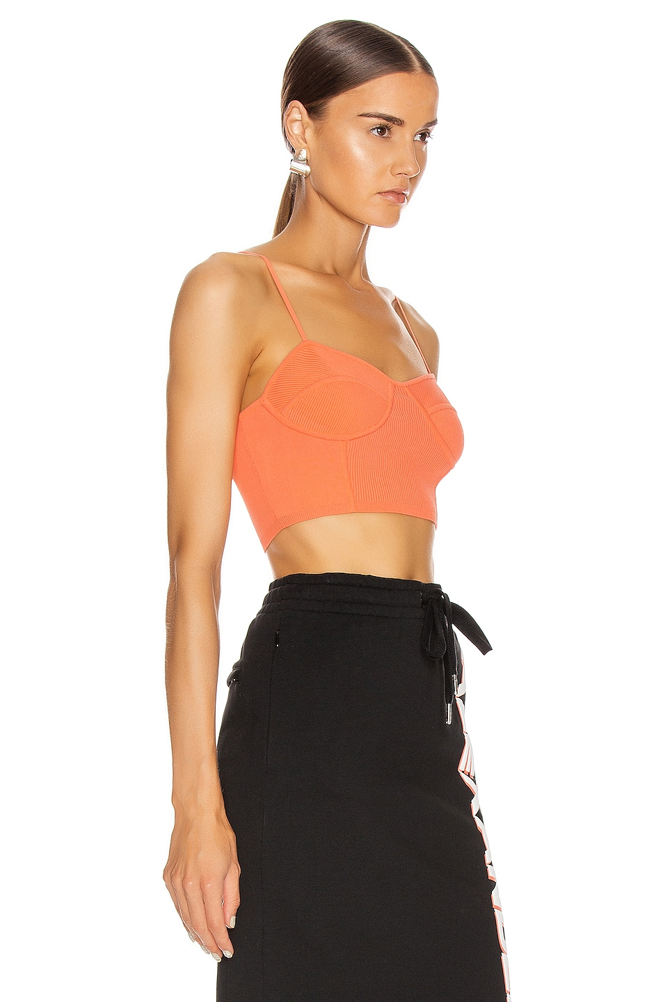 Image 2 of T by Alexander Wang Bralette Top in Faded Pink