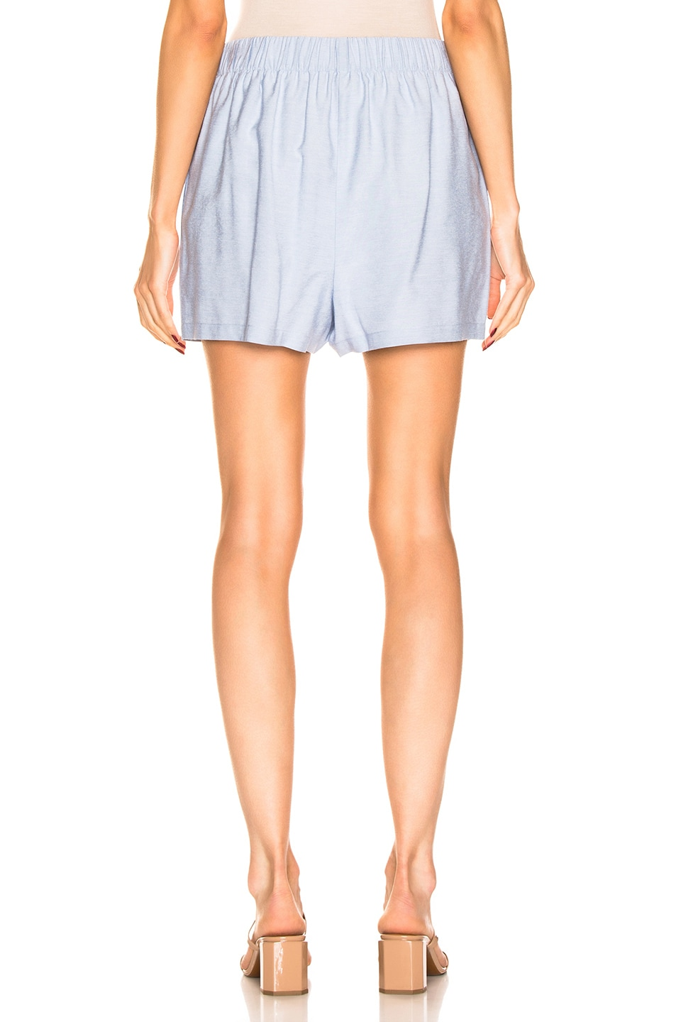 Tibi Shorts Pull On Short