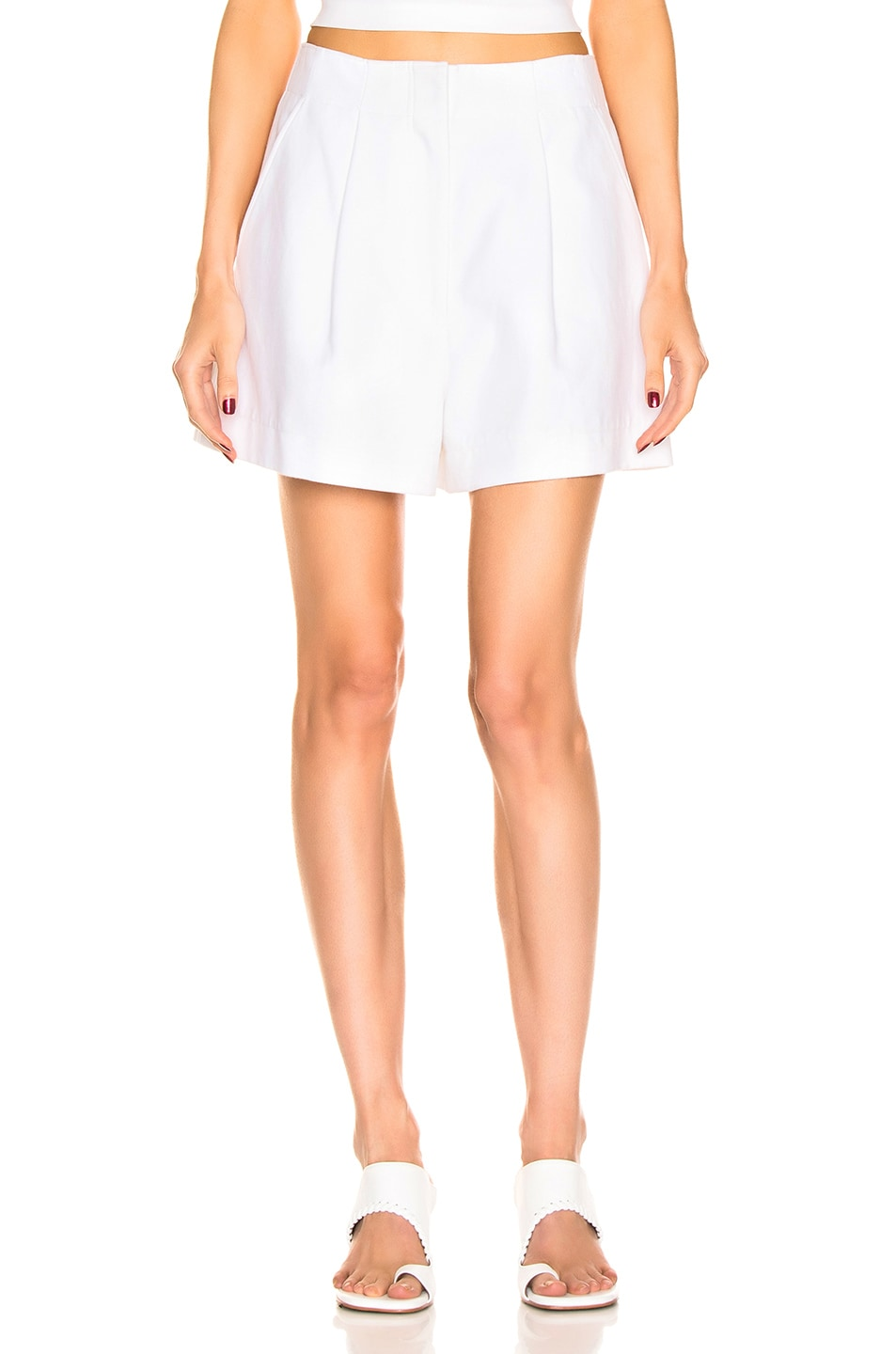 Image 2 of Tibi Suiting Short in White