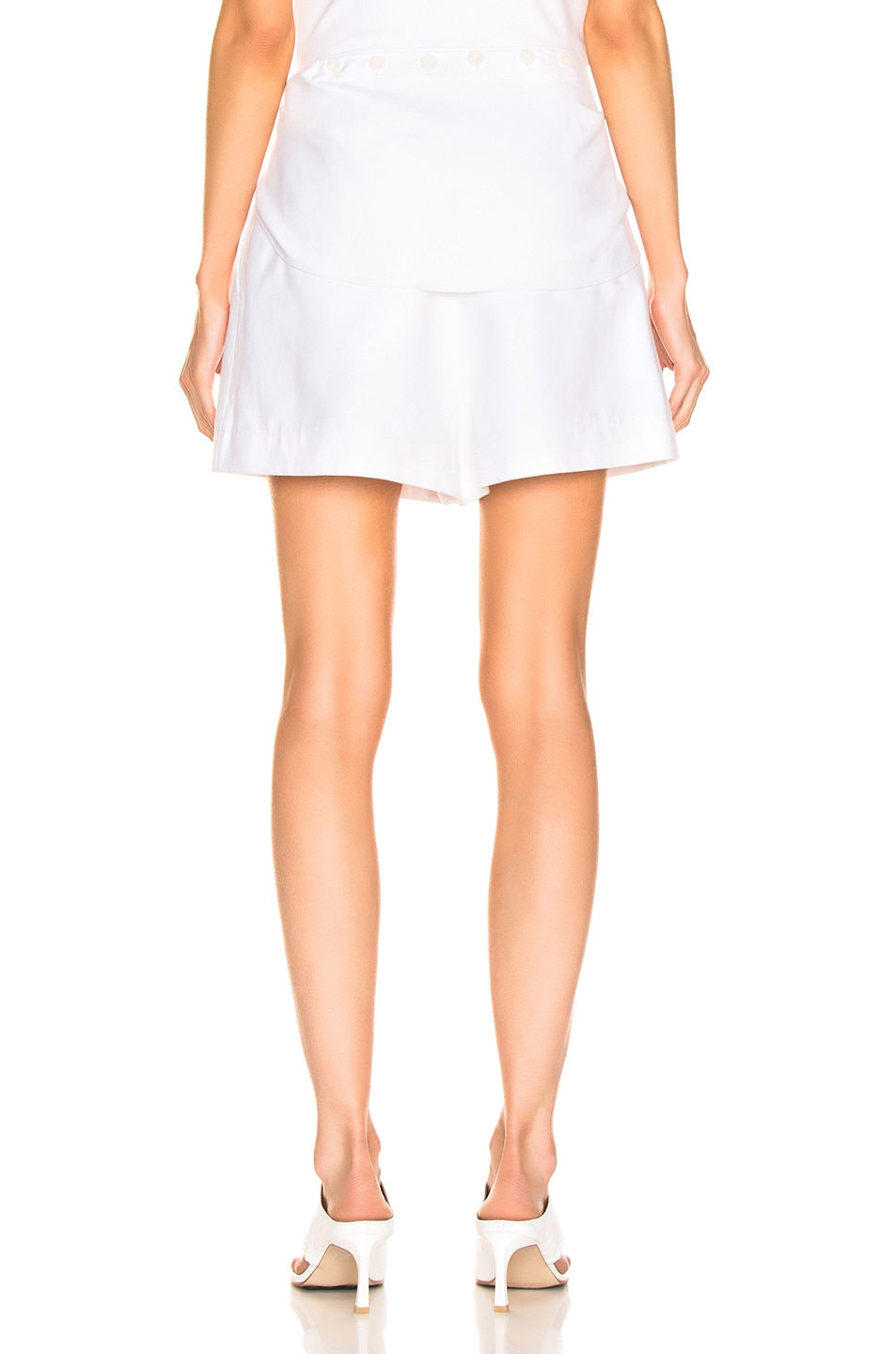 Image 5 of Tibi Suiting Short in White