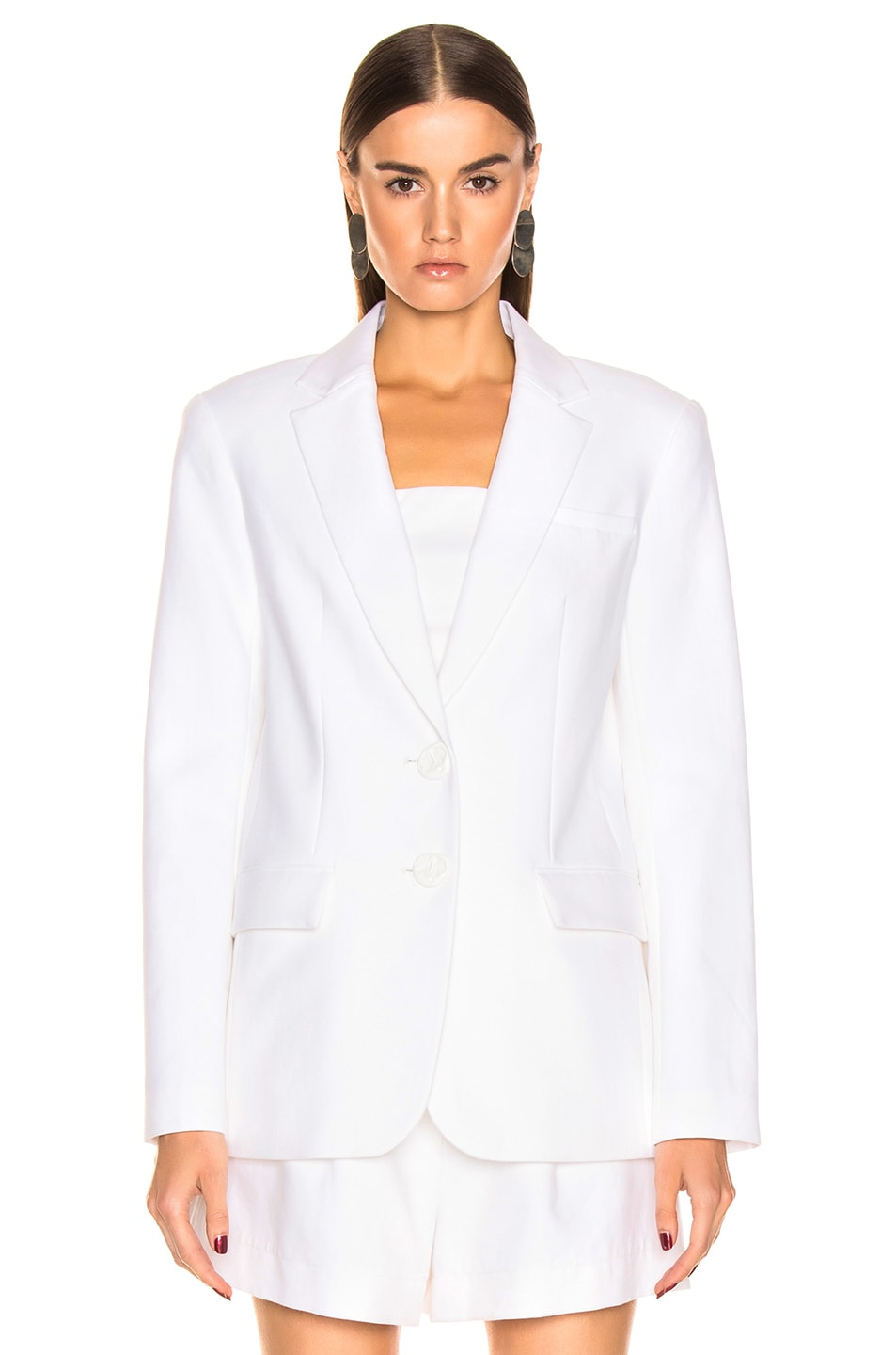 Image 2 of Tibi Cecilia Blazer in White