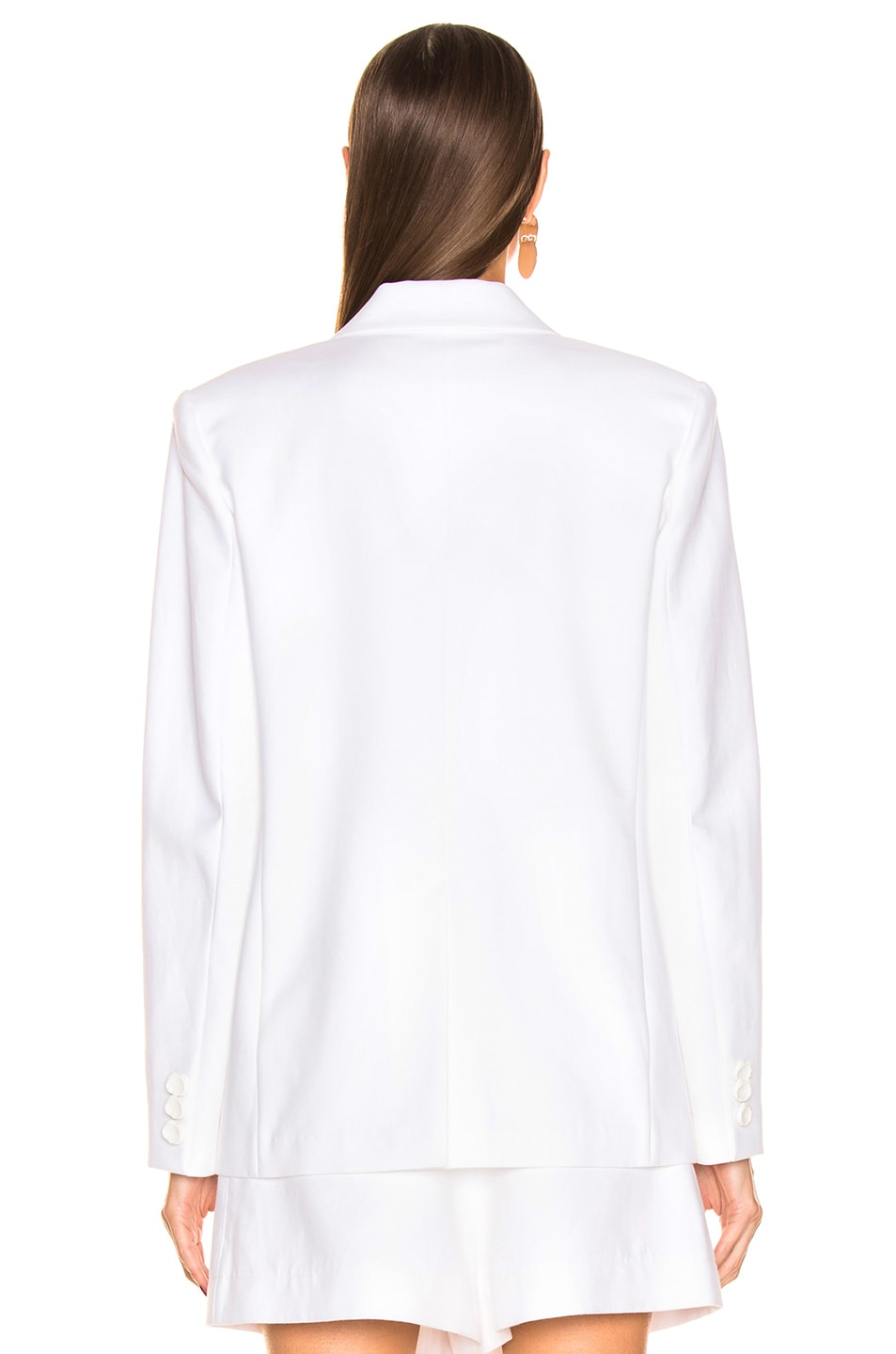 Image 4 of Tibi Cecilia Blazer in White