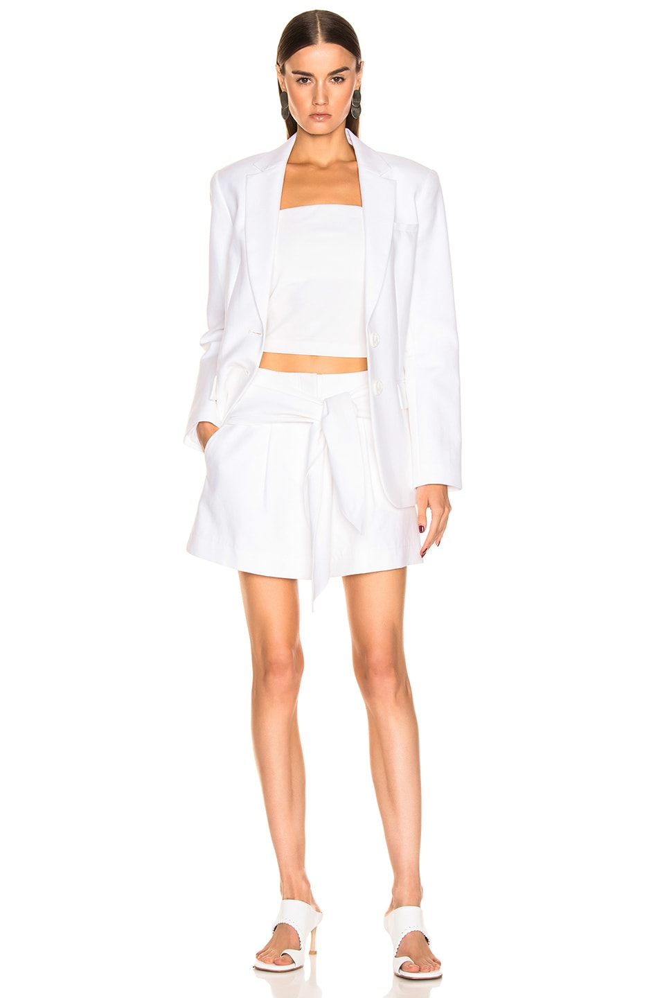 Image 5 of Tibi Cecilia Blazer in White
