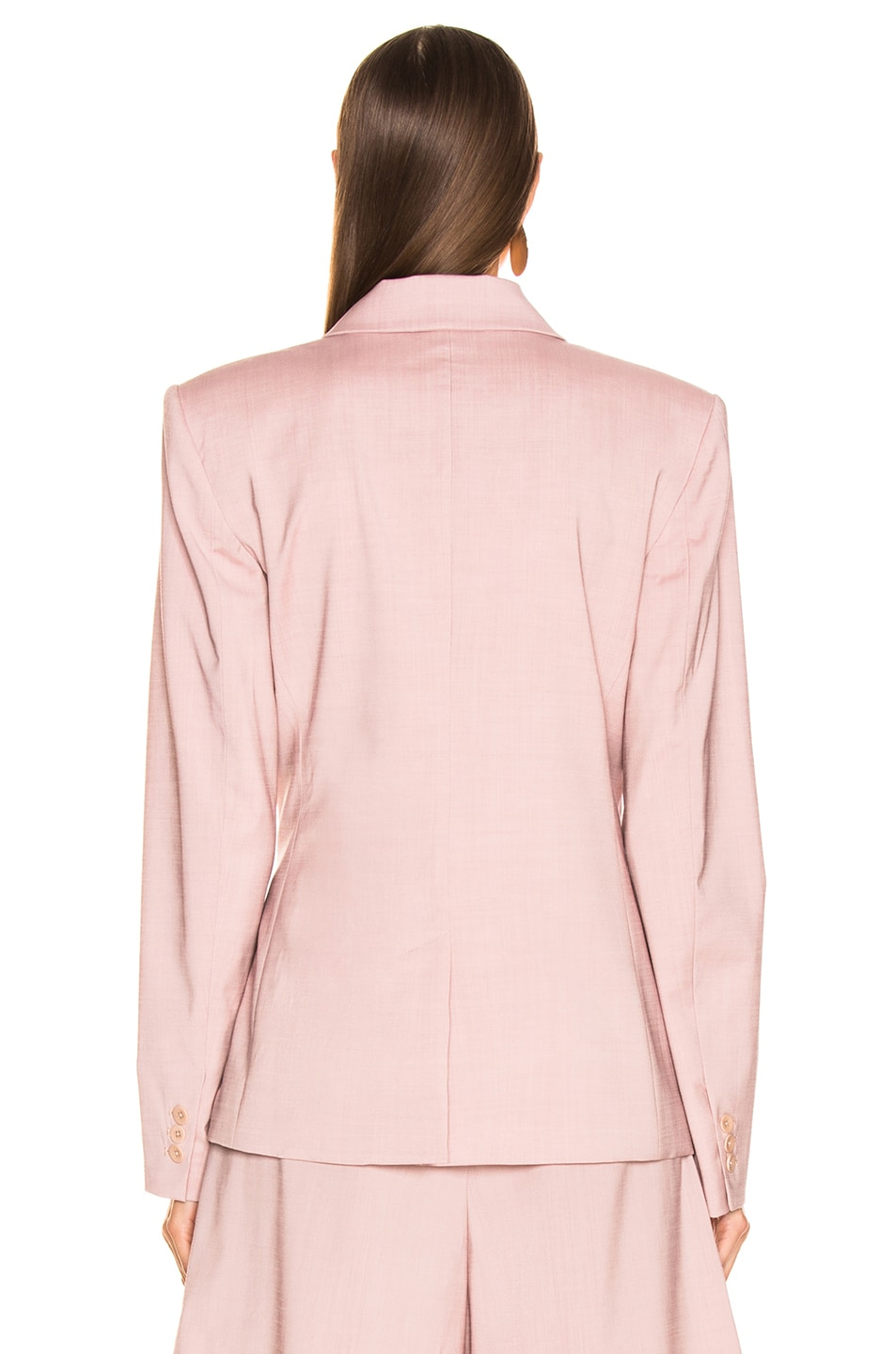 Image 5 of Tibi Wrap Jacket in Blush