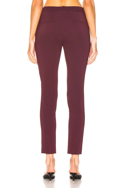 Image 3 of Tibi Beatle Menswear Pant in Dark Currant
