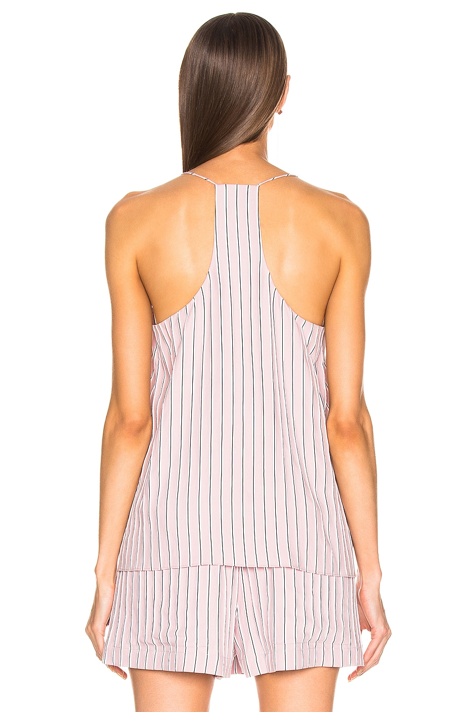 Image 3 of Tibi Classic Cami in Dusty Pink
