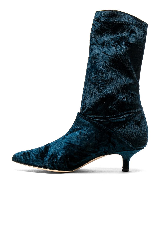tibi Harper Velvet Boots in . CcPPEqH7Y