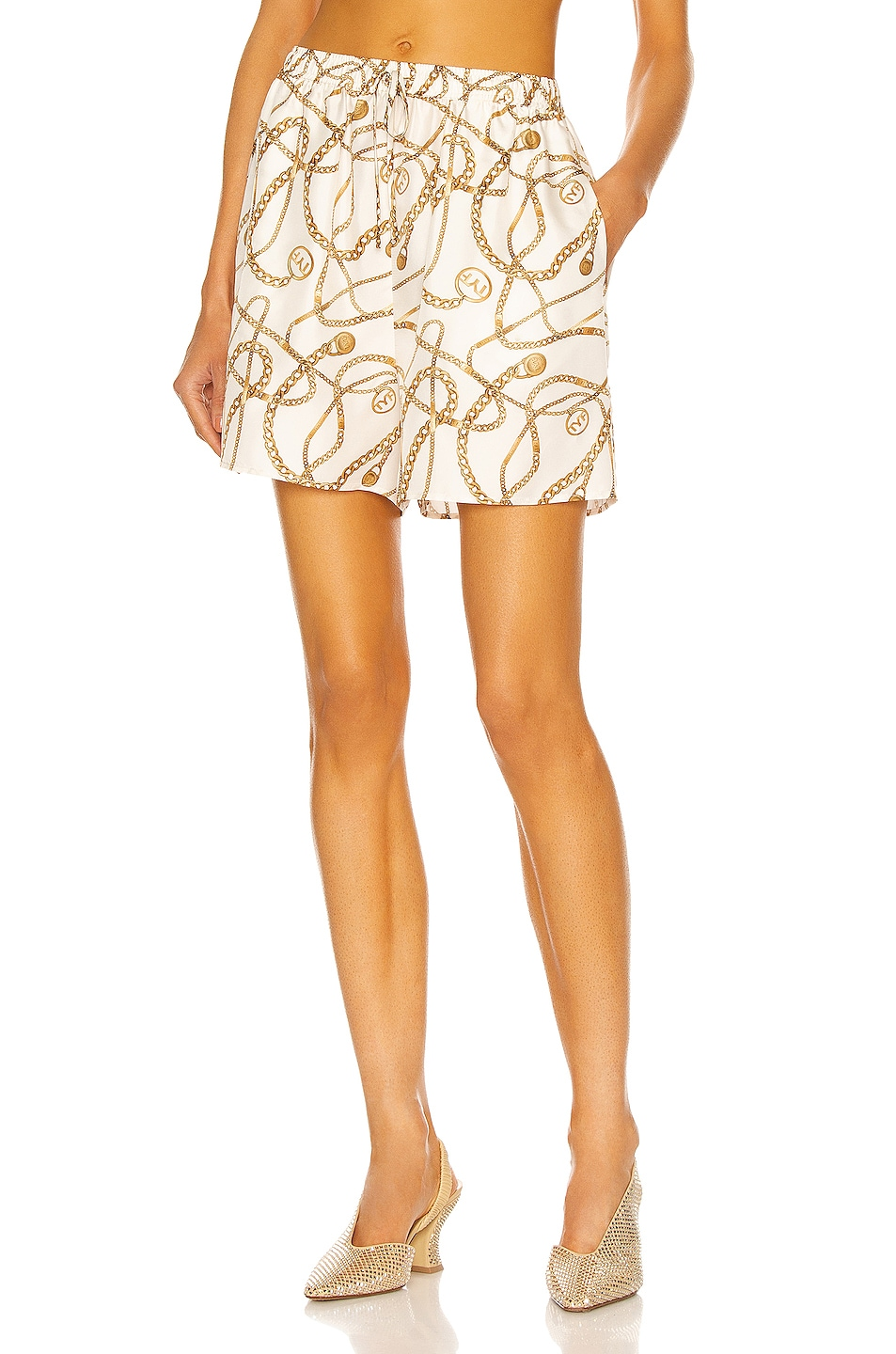 Image 1 of Tell Your Friends Lounge Short in Celeste Print