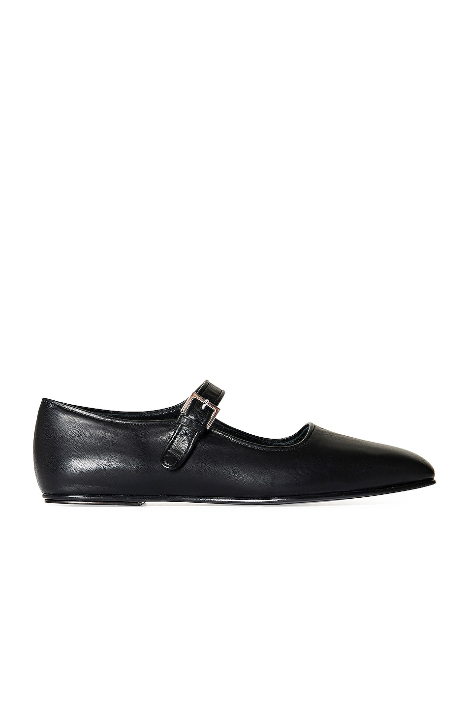 Image 1 of The Row Ava Mary Jane Flats in Black