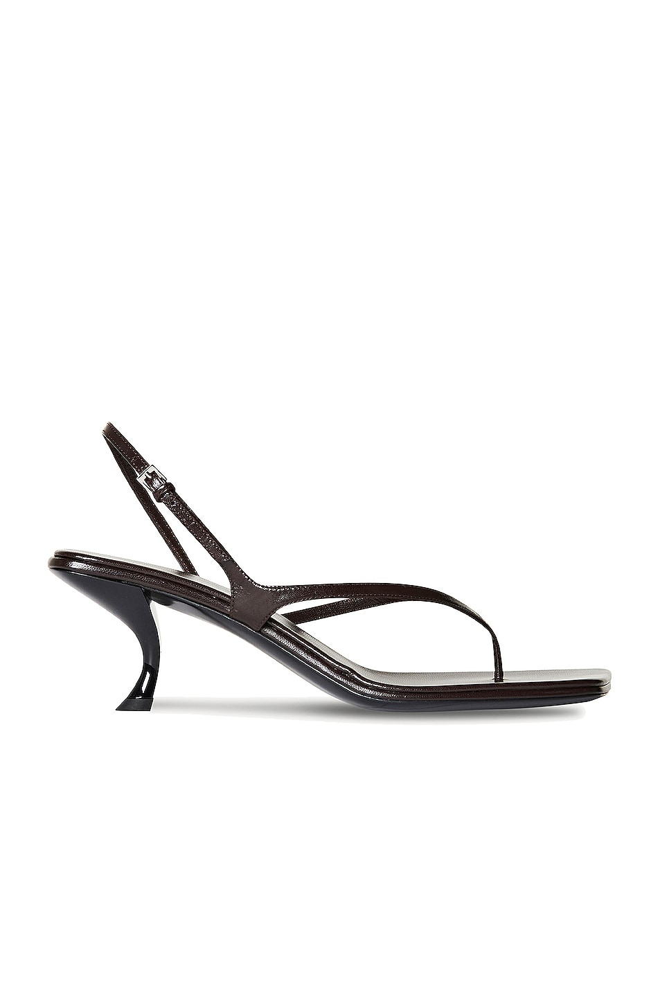 Image 1 of The Row Constance Leather Sandals in Mocha