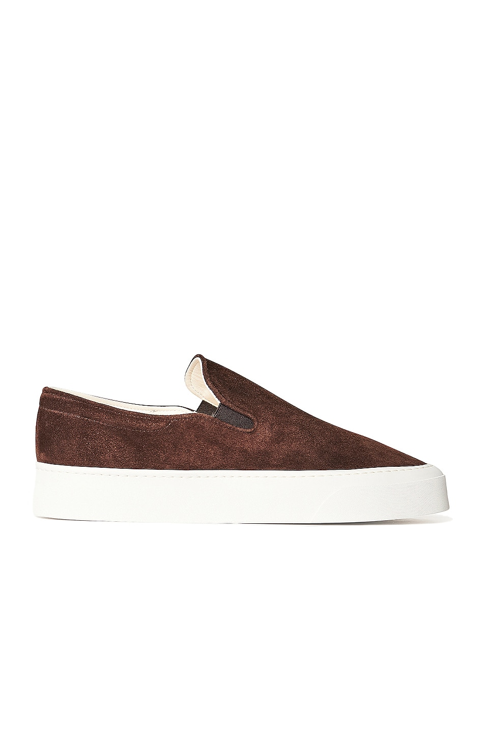 Image 1 of The Row Marie H Slip On Sneakers in Mocha