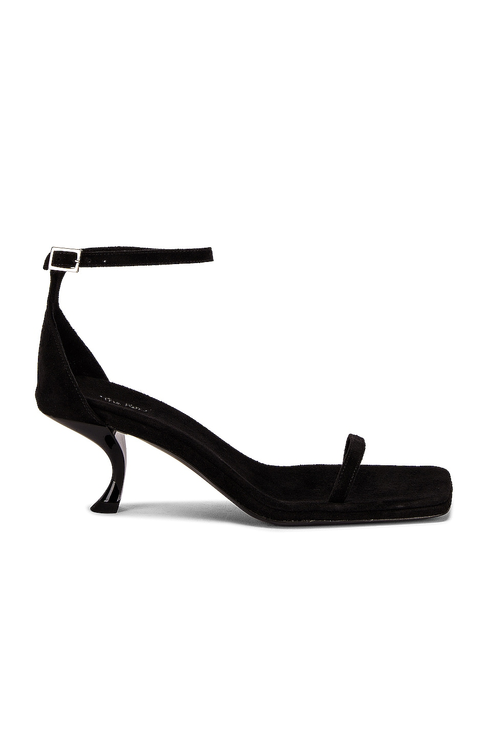Image 1 of The Row Paloma Sandals in Black