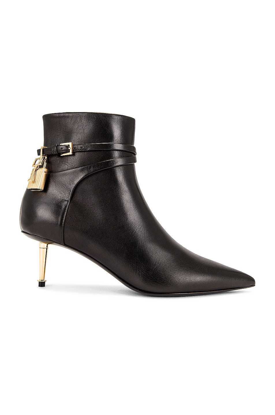 Image 1 of TOM FORD Padlock Ankle Boot 55 in Black