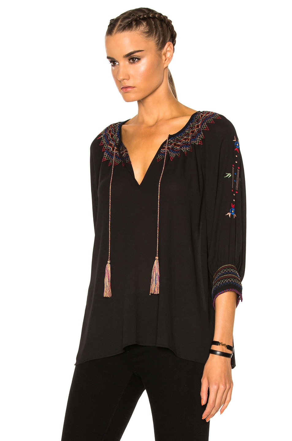 Image 2 of The Great Promenade Top in Black