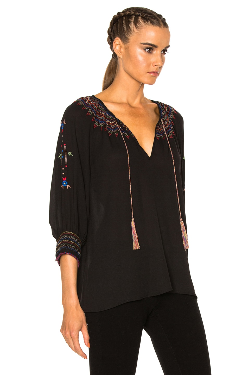 Image 3 of The Great Promenade Top in Black