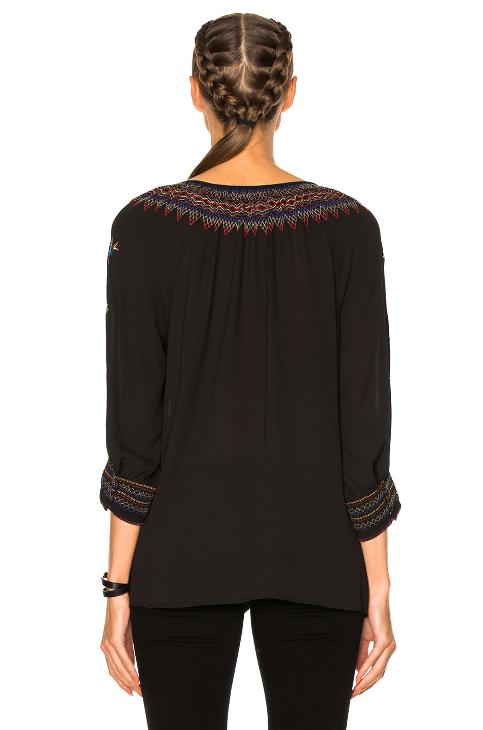 Image 4 of The Great Promenade Top in Black