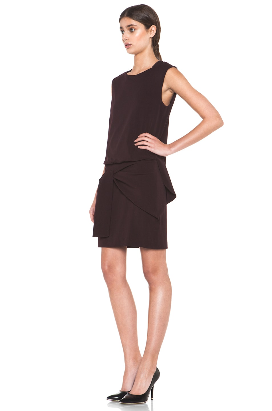 Image 2 of Theyskens' Theory Fomment Dinta Dress in Dark Calla