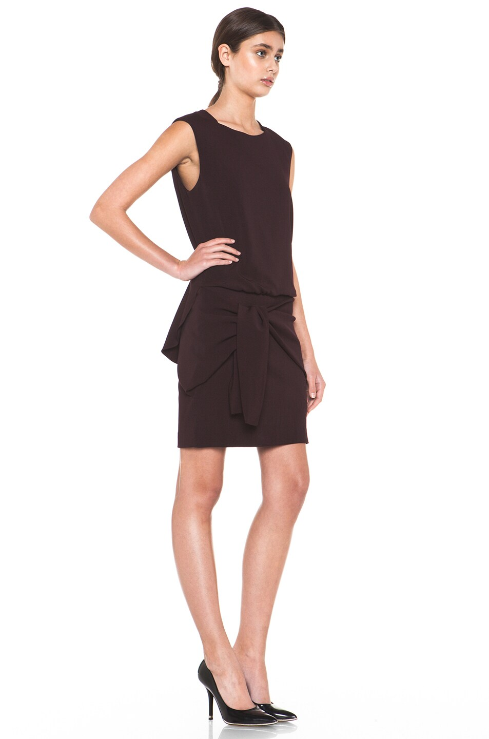 Image 3 of Theyskens' Theory Fomment Dinta Dress in Dark Calla