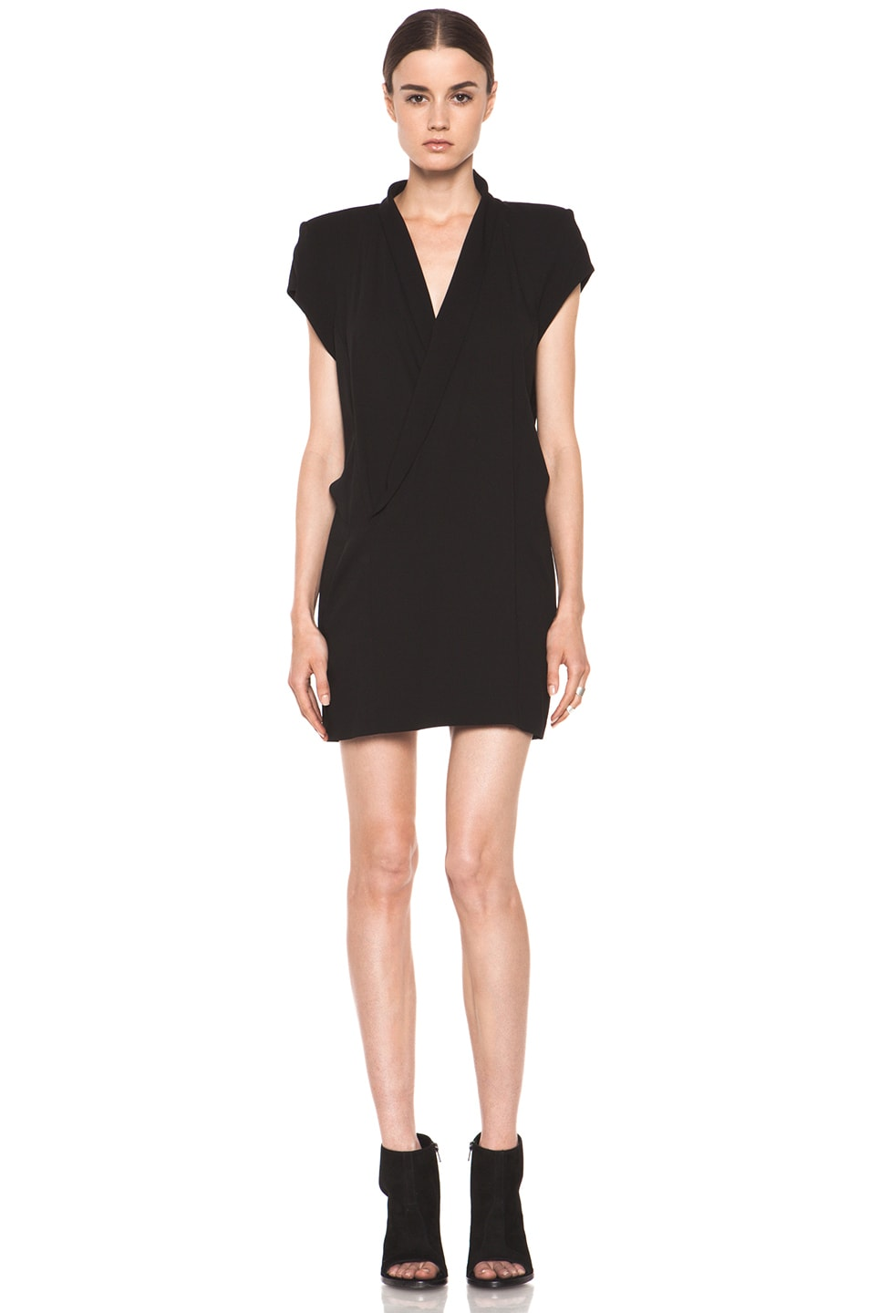 Image 1 of Theyskens' Theory Dune Fabby Dress in Black