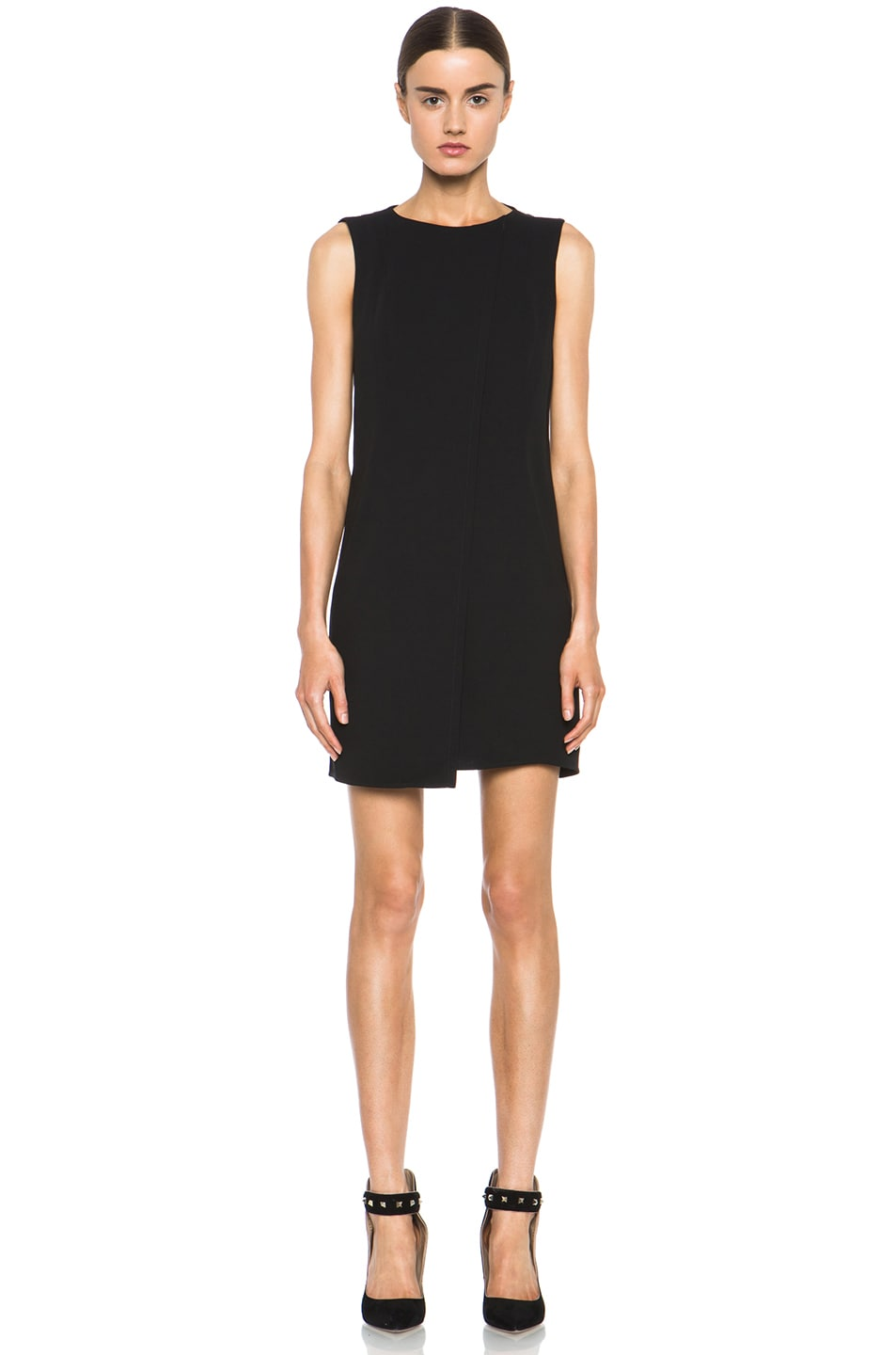 Image 1 of Theyskens' Theory Fabby Dwato Viscose Dress in Black