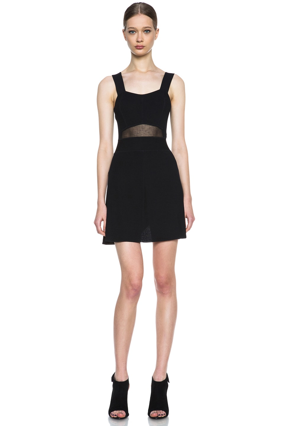Image 1 of Theyskens' Theory Kindra Knit Dress in Black