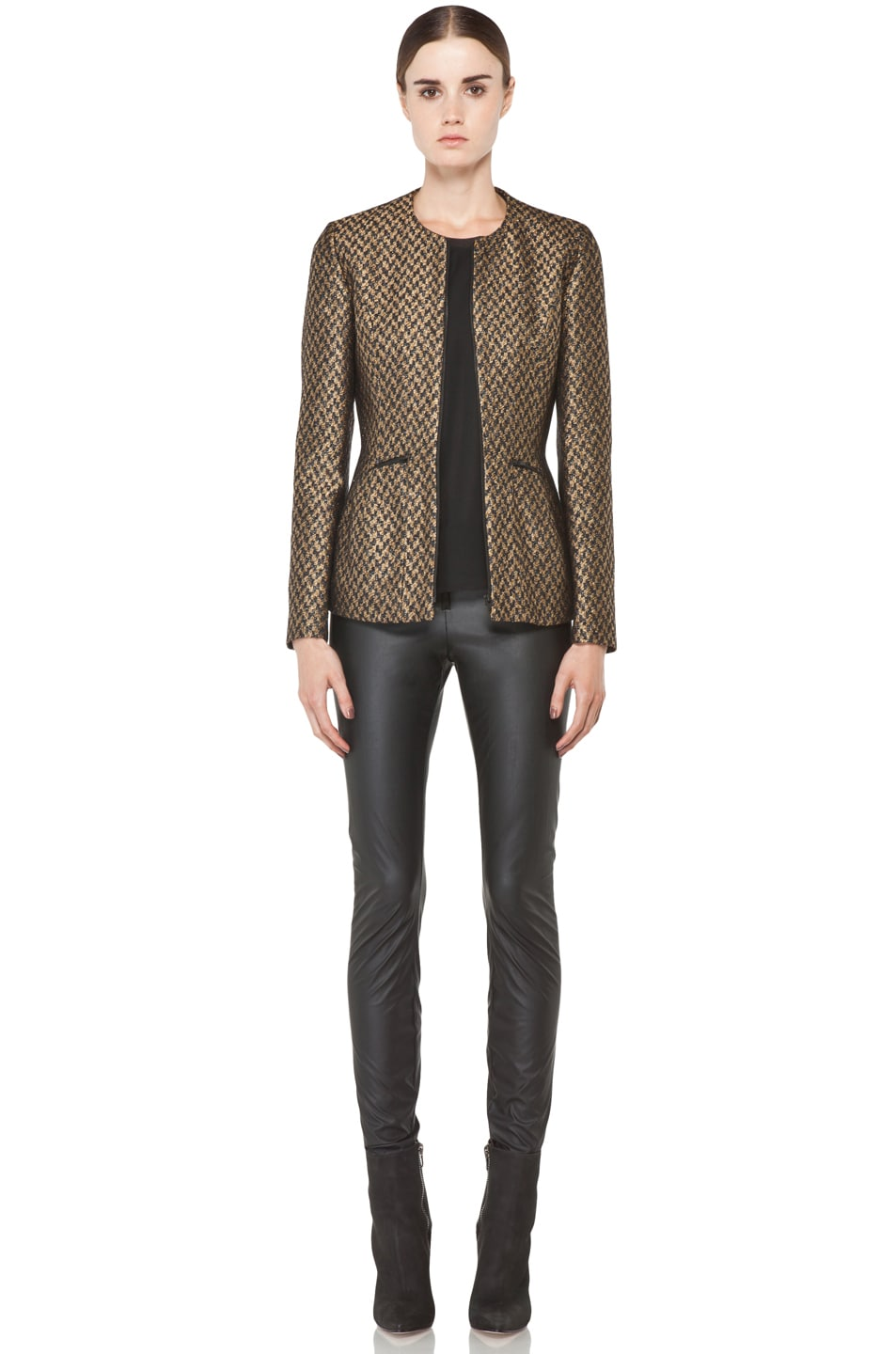 Image 6 of Theyskens' Theory Jelsor Faize Jacket in Gold Multi