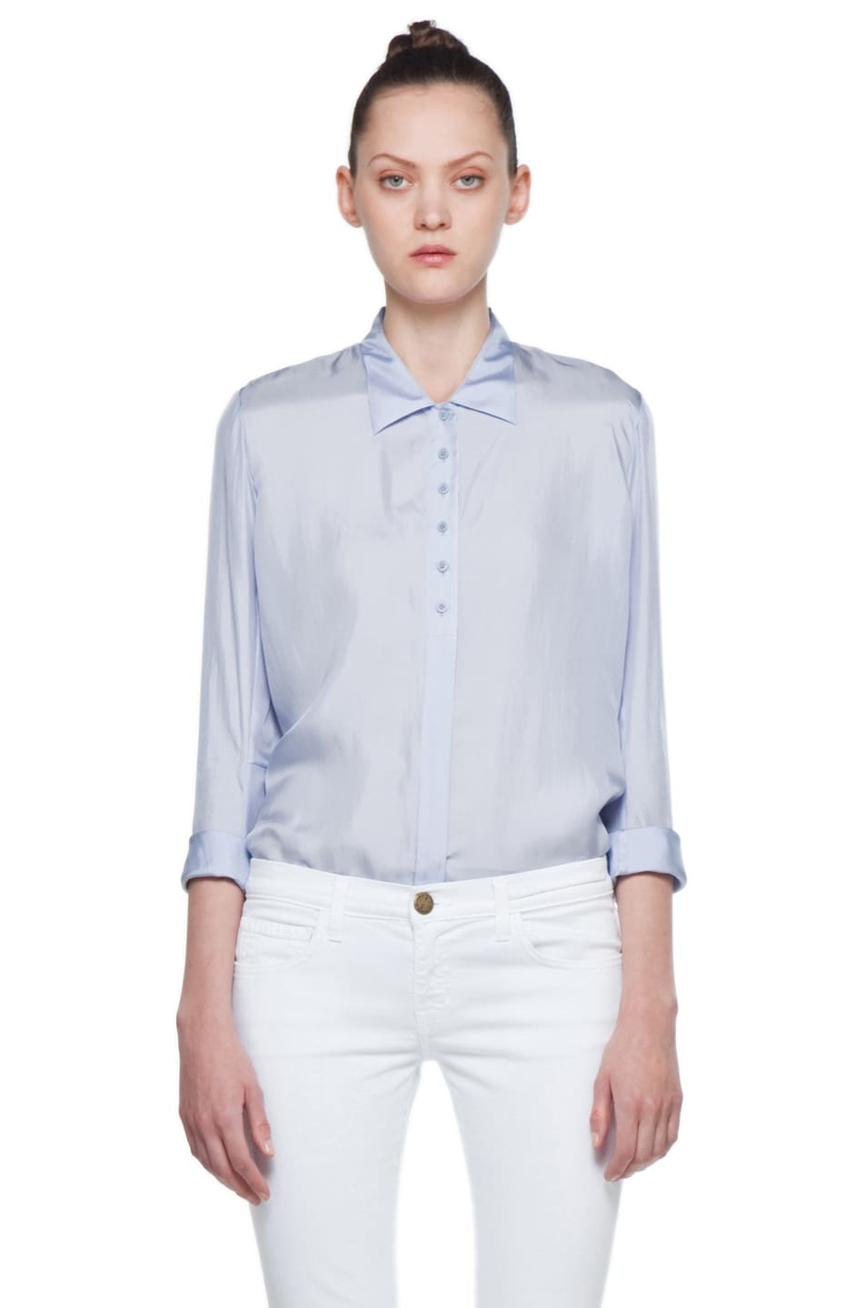 Image 1 of Theyskens' Theory Fatavia Button Up in Dusty