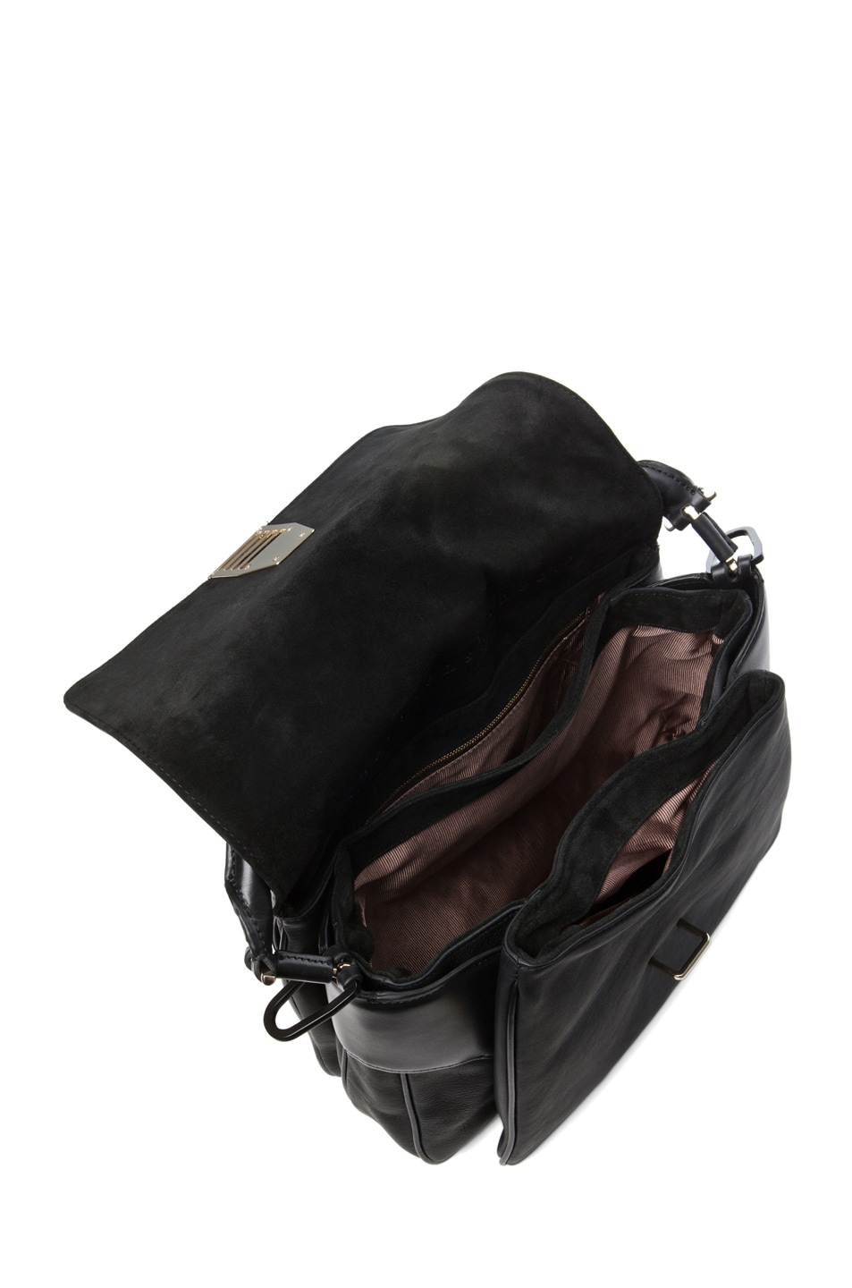 Image 4 of Theyskens' Theory Willa Azia Leather Bag in Black