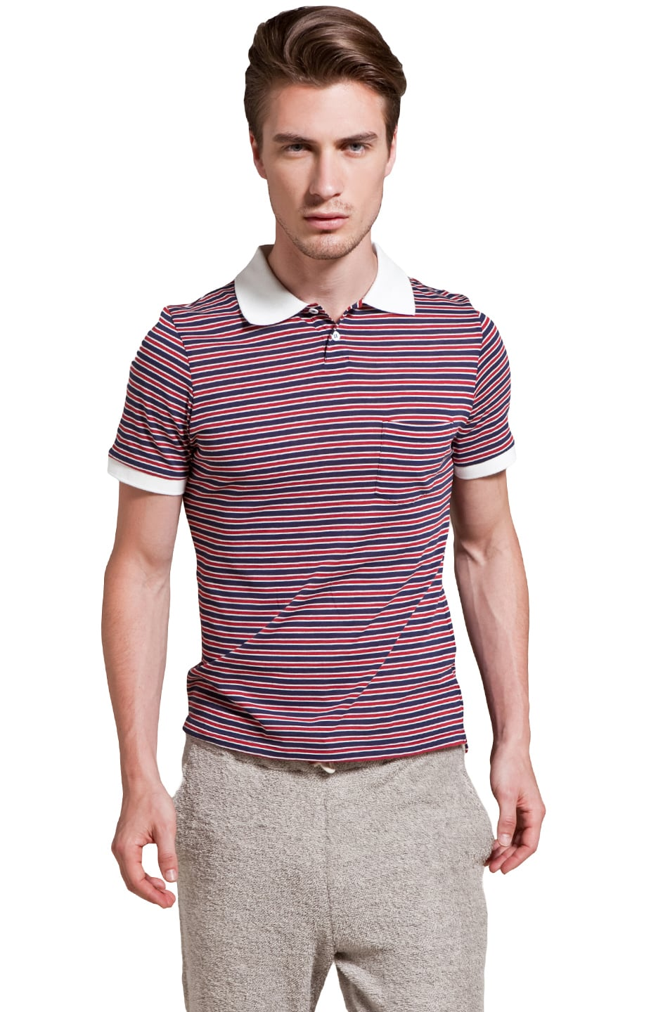 9ce73f94e84a Image 1 of THIS IS NOT A POLO SHIRT. by band of outsiders Short Sleeve