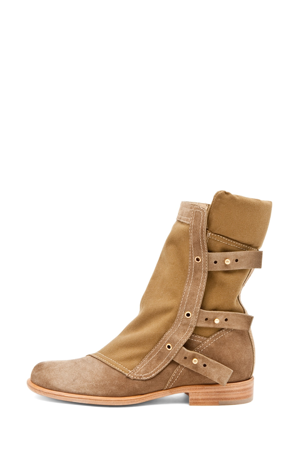 Image 1 of Thakoon by Giuseppe Zanotti Flat Boot in Tan