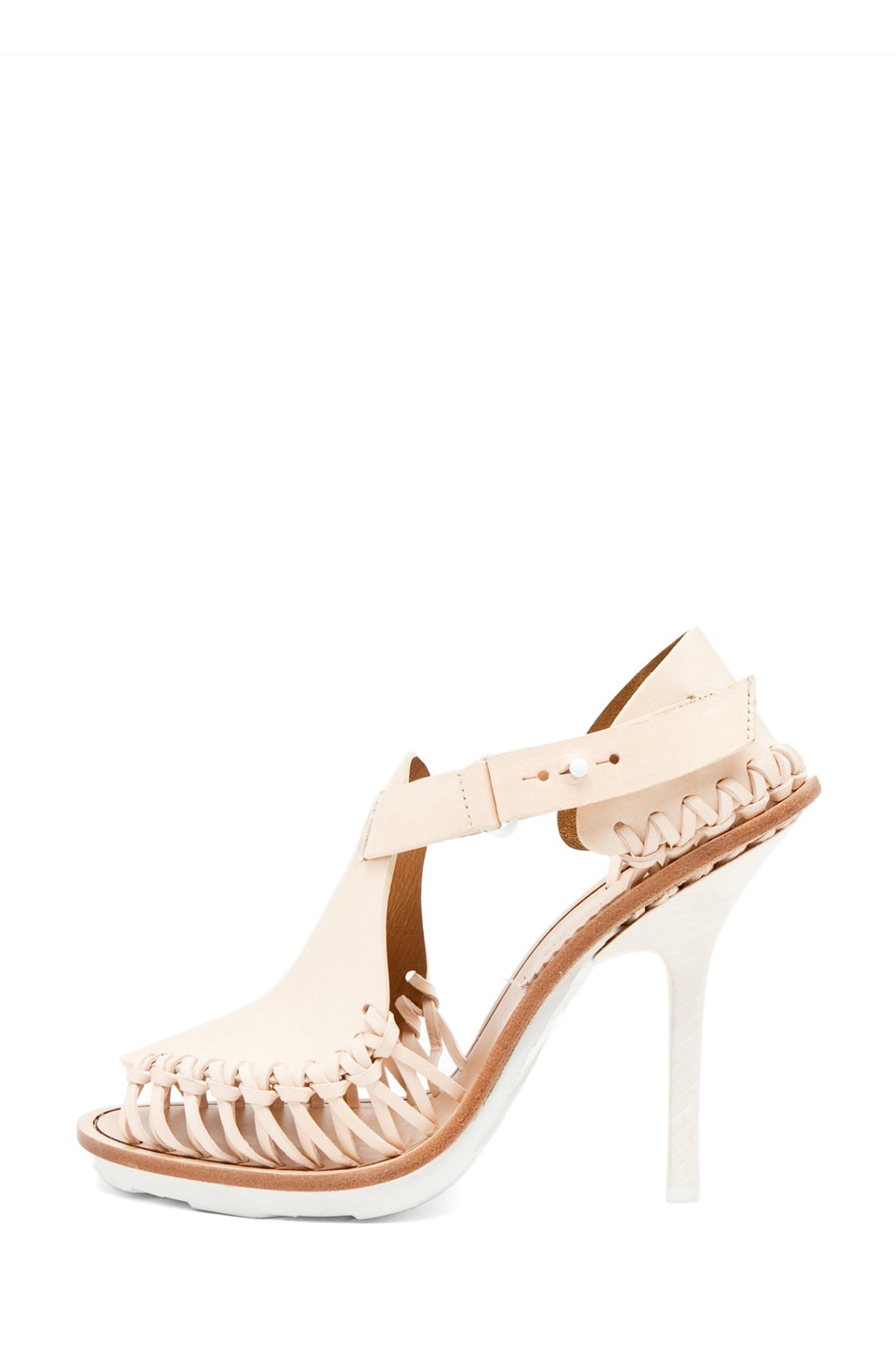 Image 1 of Thakoon by Giuseppe Zanotti Open Toe Heel in Blush