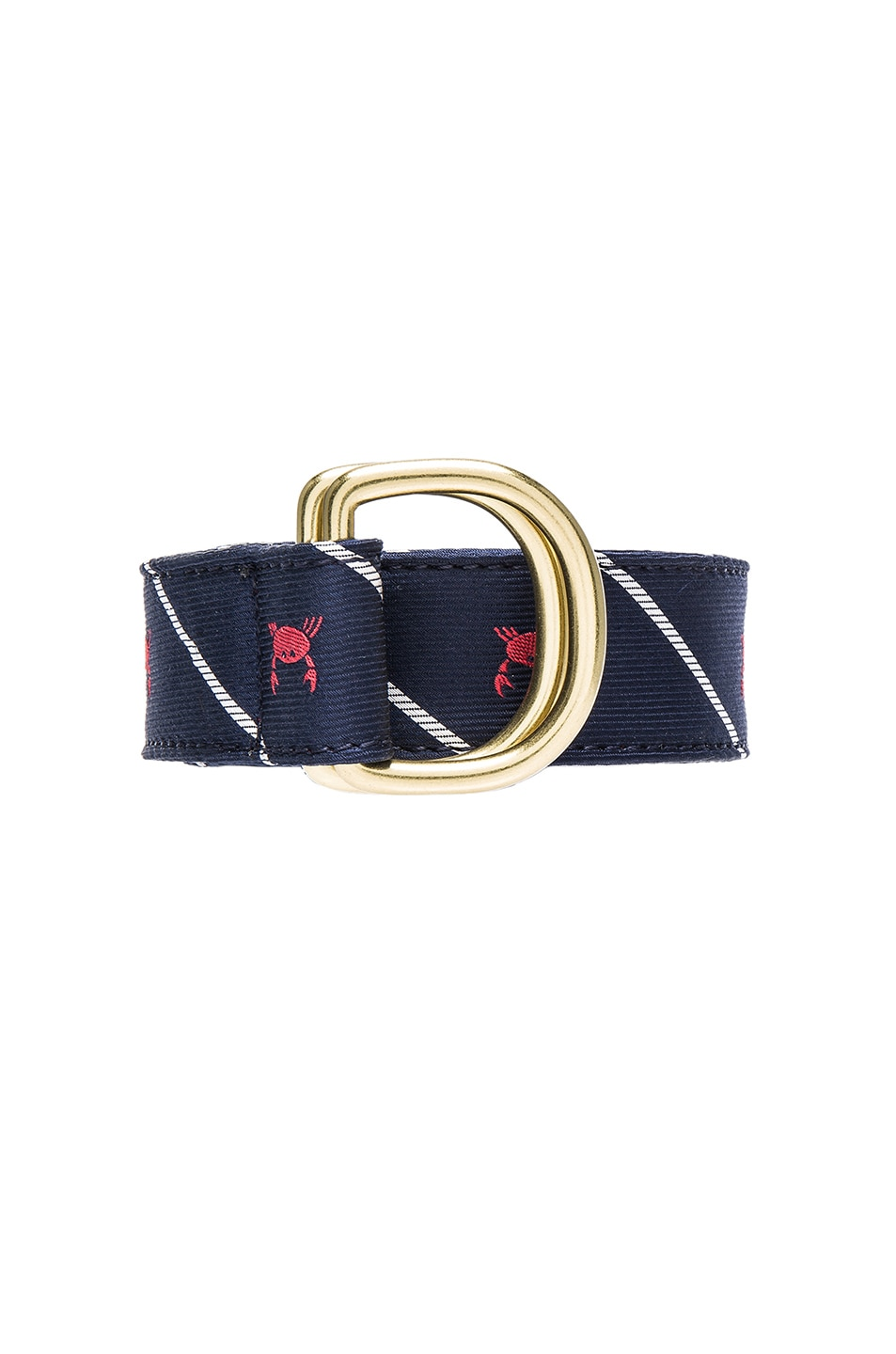 a2fb015c11 Image 3 of Thom Browne Crab Rope D Ring Belt in Navy