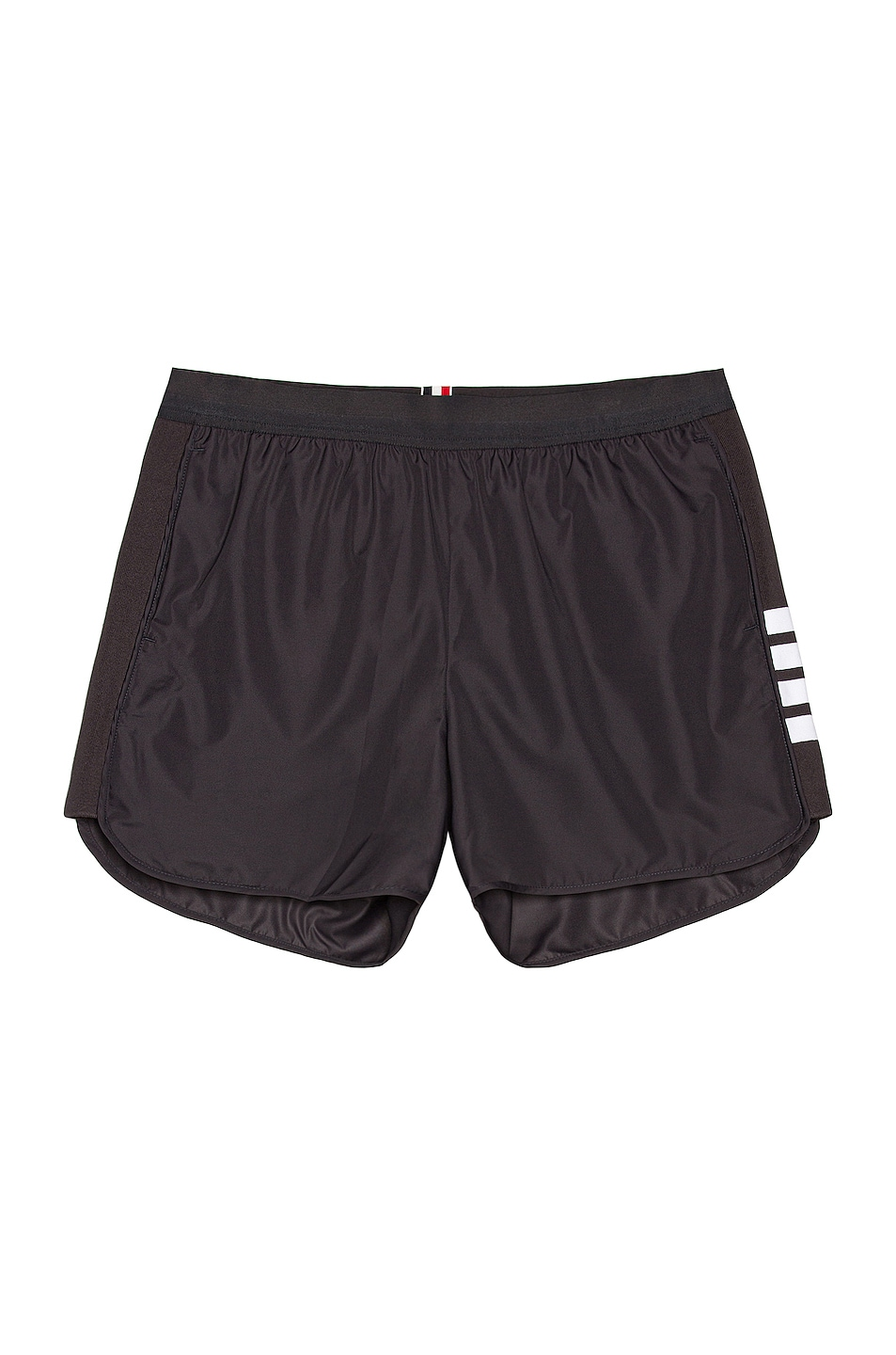 Image 1 of Thom Browne Running Shorts in Charcoal