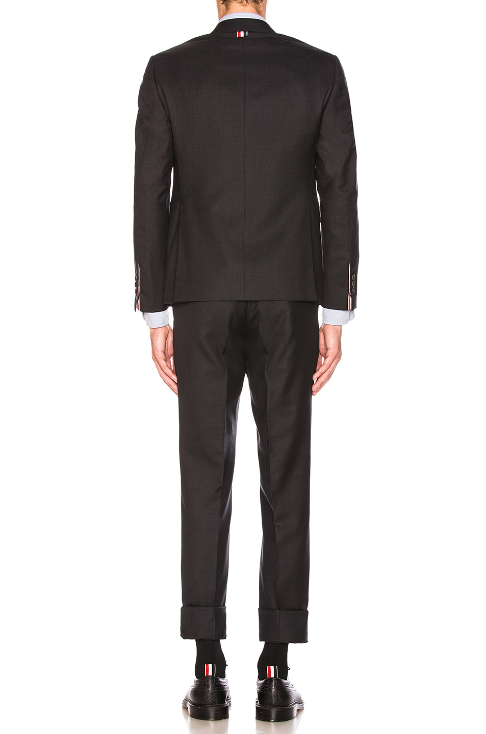 Image 4 of Thom Browne Classic Wool Suit in Charcoal