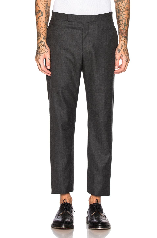 Image 5 of Thom Browne Wide Lapel Suit in Dark Grey
