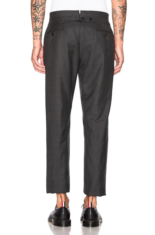 Image 7 of Thom Browne Wide Lapel Suit in Dark Grey