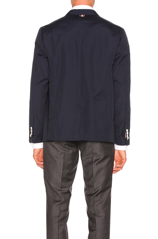 Image 4 of Thom Browne Patch Pocket Blazer in Navy